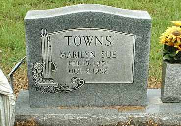 SHIREMAN TOWNS, MARILYN SUE - White County, Arkansas | MARILYN SUE SHIREMAN TOWNS - Arkansas Gravestone Photos