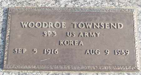 TOWNSEND (VETERAN KOR), WOODROE - White County, Arkansas | WOODROE TOWNSEND (VETERAN KOR) - Arkansas Gravestone Photos