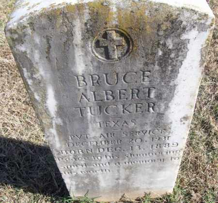 TUCKER  (VETERAN), BRUCE ALBERT - White County, Arkansas | BRUCE ALBERT TUCKER  (VETERAN) - Arkansas Gravestone Photos