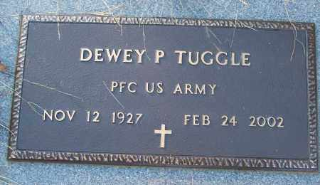 TUGGLE (VETERAN), DEWEY P - White County, Arkansas | DEWEY P TUGGLE (VETERAN) - Arkansas Gravestone Photos