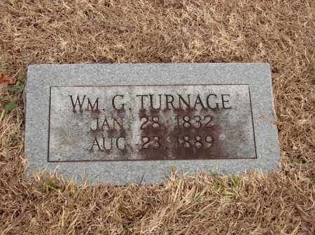 TURNAGE, WILLIAM G. - White County, Arkansas | WILLIAM G. TURNAGE - Arkansas Gravestone Photos