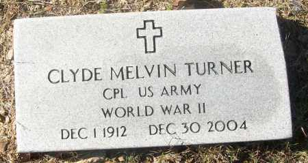 TURNER  (VETERAN WWII), CLYDE MELVIN - White County, Arkansas | CLYDE MELVIN TURNER  (VETERAN WWII) - Arkansas Gravestone Photos