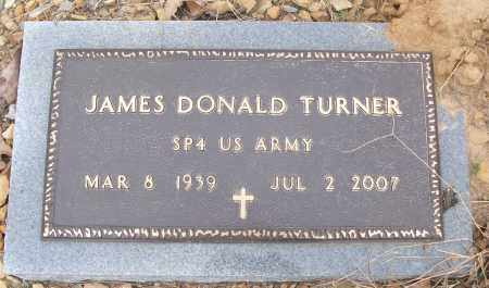 TURNER (VETERAN), JAMES DONALD - White County, Arkansas | JAMES DONALD TURNER (VETERAN) - Arkansas Gravestone Photos