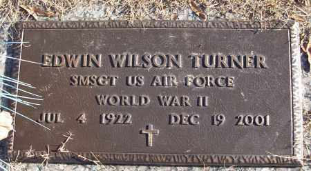 TURNER (VETERAN WWII), EDWIN WILSON - White County, Arkansas | EDWIN WILSON TURNER (VETERAN WWII) - Arkansas Gravestone Photos