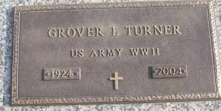 TURNER (VETERAN WWII), GROVER L - White County, Arkansas | GROVER L TURNER (VETERAN WWII) - Arkansas Gravestone Photos