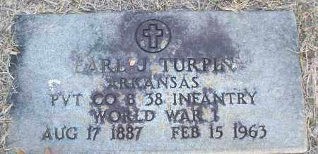 TURPIN (VETERAN WWI), EARL J - White County, Arkansas | EARL J TURPIN (VETERAN WWI) - Arkansas Gravestone Photos