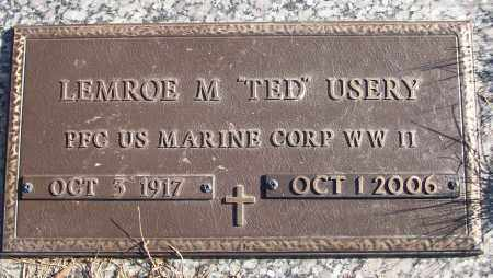 """USERY (VETERAN WWII), LEMROE M """"TED"""" - White County, Arkansas 
