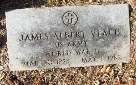 VEACH (VETERAN WWII), JAMES ALBERT - White County, Arkansas | JAMES ALBERT VEACH (VETERAN WWII) - Arkansas Gravestone Photos
