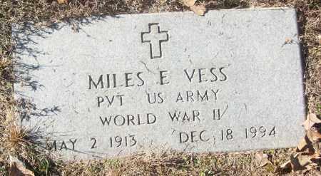 VESS  (VEERAN WWII), MILES E - White County, Arkansas | MILES E VESS  (VEERAN WWII) - Arkansas Gravestone Photos