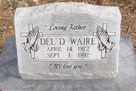 WAIRE, DEL D. - White County, Arkansas | DEL D. WAIRE - Arkansas Gravestone Photos