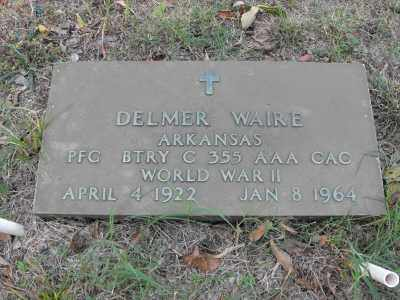WAIRE (VETERAN WWII), DELMER - White County, Arkansas | DELMER WAIRE (VETERAN WWII) - Arkansas Gravestone Photos
