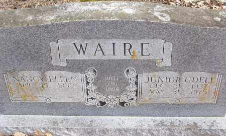 WAIRE, JUNIOR UDELL - White County, Arkansas | JUNIOR UDELL WAIRE - Arkansas Gravestone Photos