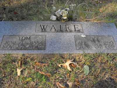 WAIRE, THOMAS WISEMAN - White County, Arkansas | THOMAS WISEMAN WAIRE - Arkansas Gravestone Photos