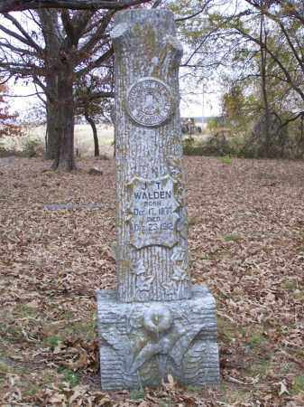 WALDEN, J. T. - White County, Arkansas | J. T. WALDEN - Arkansas Gravestone Photos