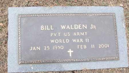 WALDEN, JR (VETERAN WWII), BILL - White County, Arkansas | BILL WALDEN, JR (VETERAN WWII) - Arkansas Gravestone Photos