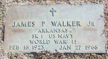 WALKER, JR (VETERAN WWII), JAMES P - White County, Arkansas | JAMES P WALKER, JR (VETERAN WWII) - Arkansas Gravestone Photos
