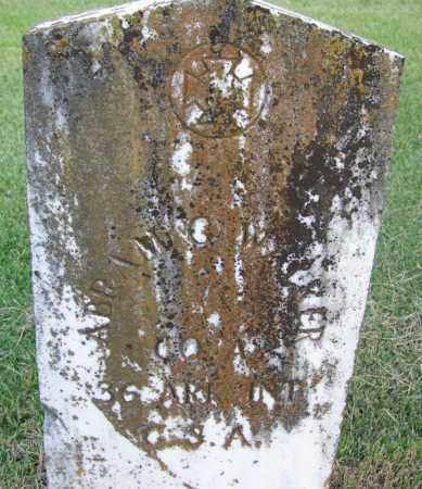 WALKER (VETERAN CSA), ABRAM G - White County, Arkansas | ABRAM G WALKER (VETERAN CSA) - Arkansas Gravestone Photos