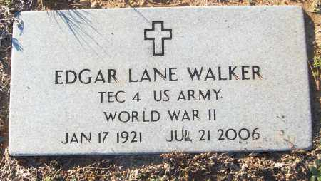 WALKER (VETERAN WWII), EDGAR LANE - White County, Arkansas | EDGAR LANE WALKER (VETERAN WWII) - Arkansas Gravestone Photos