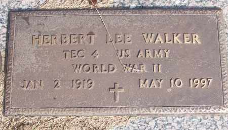 WALKER (VETERAN WWII), HERBERT LEE - White County, Arkansas | HERBERT LEE WALKER (VETERAN WWII) - Arkansas Gravestone Photos