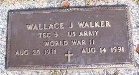 WALKER (VETERAN WWII), WALLACE J - White County, Arkansas | WALLACE J WALKER (VETERAN WWII) - Arkansas Gravestone Photos