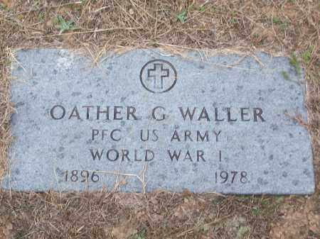 WALLER (VETERAN WWI), OATHER G - White County, Arkansas | OATHER G WALLER (VETERAN WWI) - Arkansas Gravestone Photos