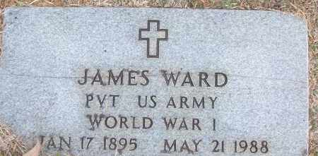 WARD (VETERAN WWI), JAMES - White County, Arkansas | JAMES WARD (VETERAN WWI) - Arkansas Gravestone Photos
