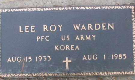 WARDEN (VETERAN KOR), LEE ROY - White County, Arkansas | LEE ROY WARDEN (VETERAN KOR) - Arkansas Gravestone Photos