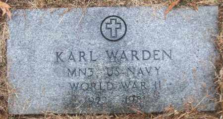 WARDEN (VETERAN WWII), KARL - White County, Arkansas | KARL WARDEN (VETERAN WWII) - Arkansas Gravestone Photos