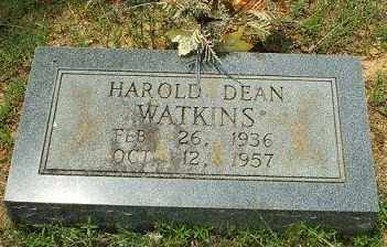 WATKINS, HAROLD DEAN - White County, Arkansas | HAROLD DEAN WATKINS - Arkansas Gravestone Photos