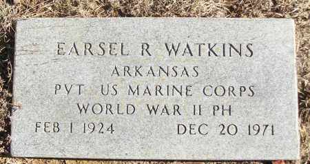 WATKINS (VETERAN WWII), EARSEL R - White County, Arkansas | EARSEL R WATKINS (VETERAN WWII) - Arkansas Gravestone Photos