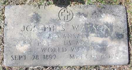 WATSON (VETERAN WWI), JOSEPH S - White County, Arkansas | JOSEPH S WATSON (VETERAN WWI) - Arkansas Gravestone Photos