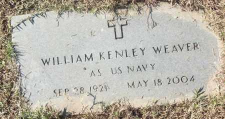 WEAVER (VETERAN), WILLIAM KENLEY - White County, Arkansas   WILLIAM KENLEY WEAVER (VETERAN) - Arkansas Gravestone Photos