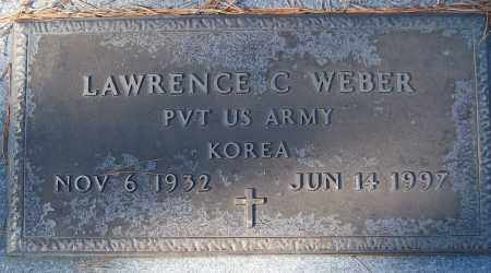 WEBER (VETERAN KOR), LAWRENCE C - White County, Arkansas | LAWRENCE C WEBER (VETERAN KOR) - Arkansas Gravestone Photos