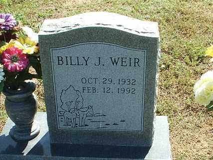 WEIR, BILLY J. - White County, Arkansas | BILLY J. WEIR - Arkansas Gravestone Photos