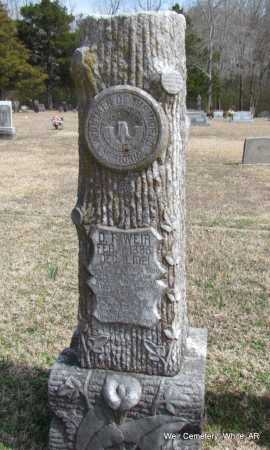 WEIR, D F - White County, Arkansas | D F WEIR - Arkansas Gravestone Photos