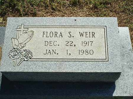 WEIR, FLORA S - White County, Arkansas | FLORA S WEIR - Arkansas Gravestone Photos