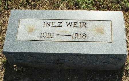 WEIR, INEZ - White County, Arkansas   INEZ WEIR - Arkansas Gravestone Photos