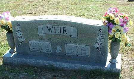 STRACNER WEIR, PERNECIE M - White County, Arkansas | PERNECIE M STRACNER WEIR - Arkansas Gravestone Photos