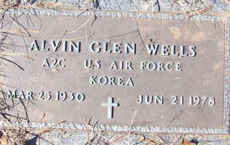 WELLS (VETERAN KOR), ALVIN GLEN - White County, Arkansas | ALVIN GLEN WELLS (VETERAN KOR) - Arkansas Gravestone Photos