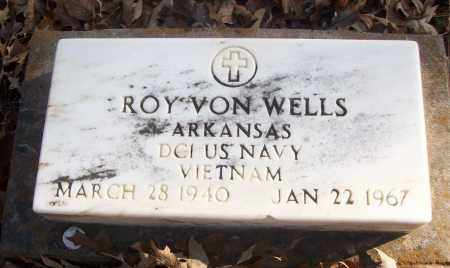 WELLS (VETERAN VIET), ROY VON - White County, Arkansas | ROY VON WELLS (VETERAN VIET) - Arkansas Gravestone Photos