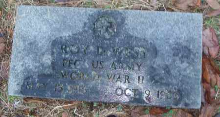 WEST (VETERAN WWII), ROY D - White County, Arkansas | ROY D WEST (VETERAN WWII) - Arkansas Gravestone Photos