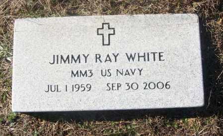 WHITE  (VETERAN), JIMMY RAY - White County, Arkansas | JIMMY RAY WHITE  (VETERAN) - Arkansas Gravestone Photos