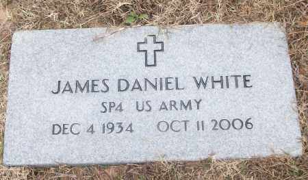 WHITE (VETERAN), JAMES DANIEL - White County, Arkansas | JAMES DANIEL WHITE (VETERAN) - Arkansas Gravestone Photos
