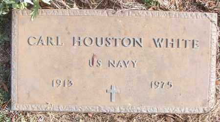 WHITE (VETERAN), CARL HOUSTON - White County, Arkansas | CARL HOUSTON WHITE (VETERAN) - Arkansas Gravestone Photos