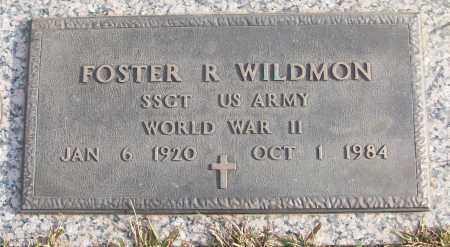 WILDMON (VETERAN WWII), FOSTER R - White County, Arkansas | FOSTER R WILDMON (VETERAN WWII) - Arkansas Gravestone Photos