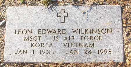 WILKINSON (VETERAN 2 WARS), LEON EDWARD - White County, Arkansas | LEON EDWARD WILKINSON (VETERAN 2 WARS) - Arkansas Gravestone Photos