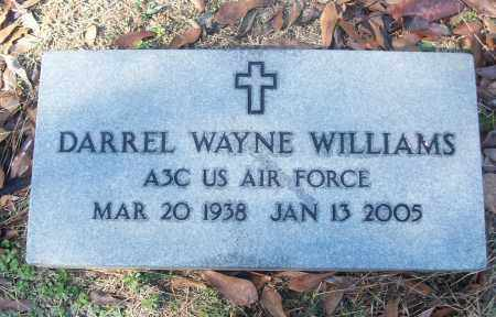 WILLIAMS (VETERAN), DARRELL WAYNE - White County, Arkansas | DARRELL WAYNE WILLIAMS (VETERAN) - Arkansas Gravestone Photos