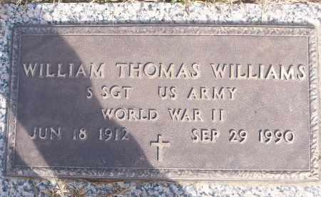 WILLIAMS (VETERAN WWII), WILLIAM THOMAS - White County, Arkansas | WILLIAM THOMAS WILLIAMS (VETERAN WWII) - Arkansas Gravestone Photos