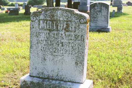 WILSON, MARTHA ANN - White County, Arkansas | MARTHA ANN WILSON - Arkansas Gravestone Photos