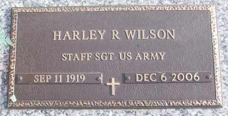 WILSON (VETERAN), HARLEY R - White County, Arkansas | HARLEY R WILSON (VETERAN) - Arkansas Gravestone Photos